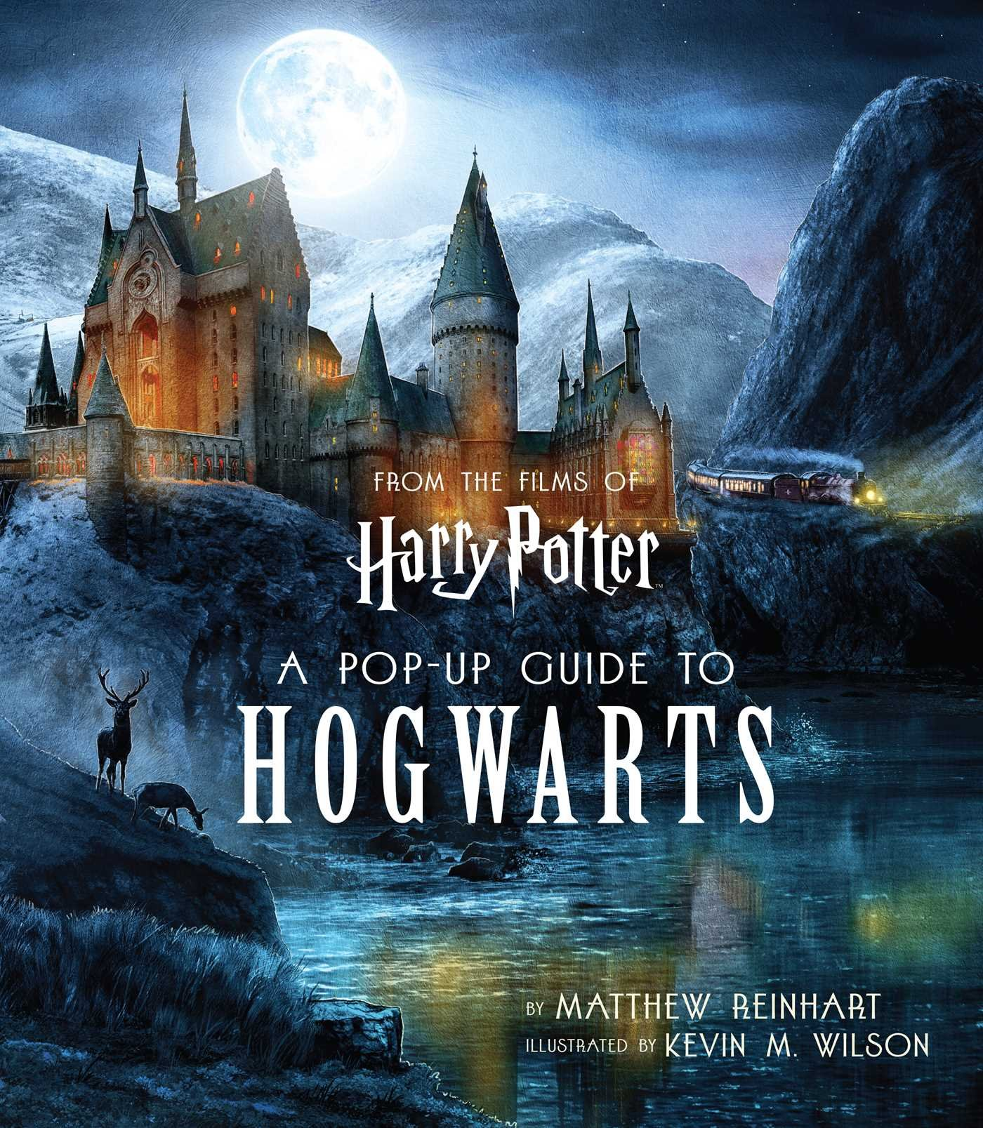 Harry Potter: A Pop-Up Guide to Hogwarts by Kevin Wilson,Matthew Reinhart, ISBN: 9781683834076