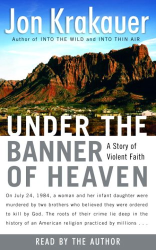 under the banner of heaven book Written by jon krakauer, narrated by scott brick download the app and start listening to under the banner of heaven today - free with a 30 day trial keep your audiobook forever, even if you cancel.