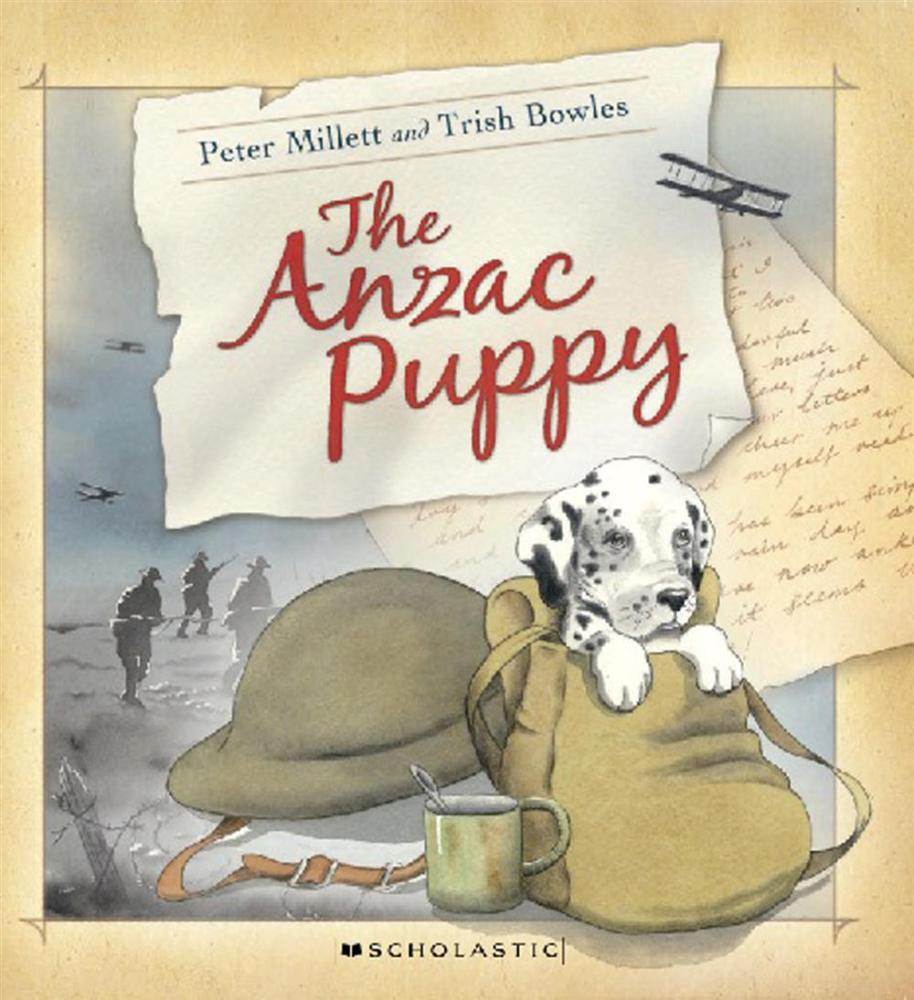 Cover Art for The ANZAC Puppy, ISBN: 9781775430971