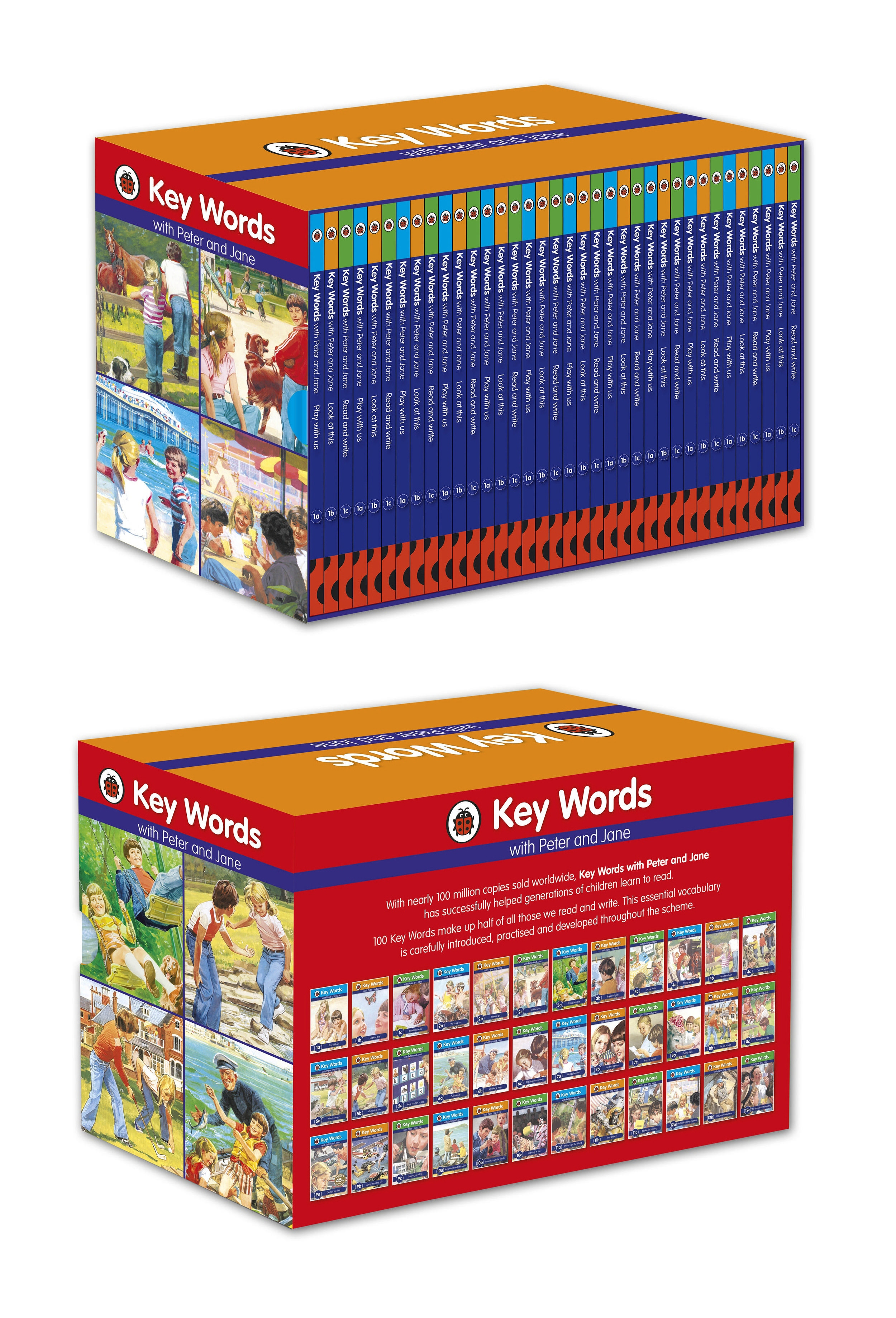 Ladybird Key Words with Peter and Jane Box Set by Ladybird, ISBN: 9780723296782