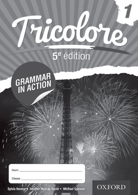 Tricolore 5e édition Grammar in Action Workbook 1 (pack of 8)