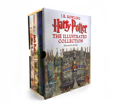 Harry PotterThe Illustrated Collection (Books 1-3 Boxed Set)