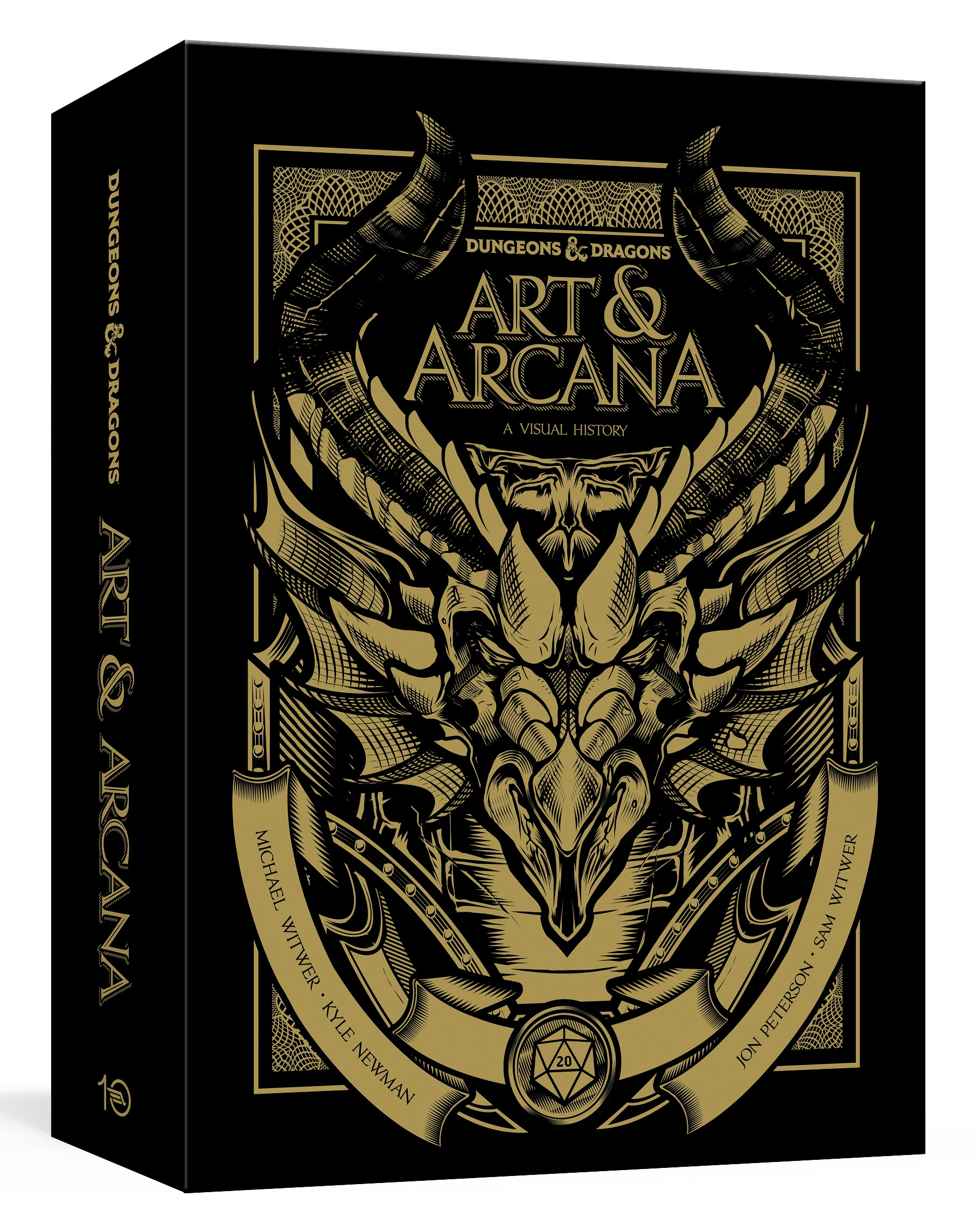Dungeons and Dragons Art and Arcana [special Edition, Boxed Book & Ephemera]: A Visual History