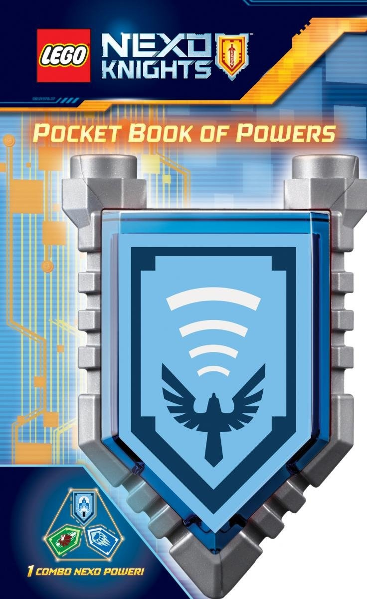 Pocket Book of Shields (Lego Nexo Knights)