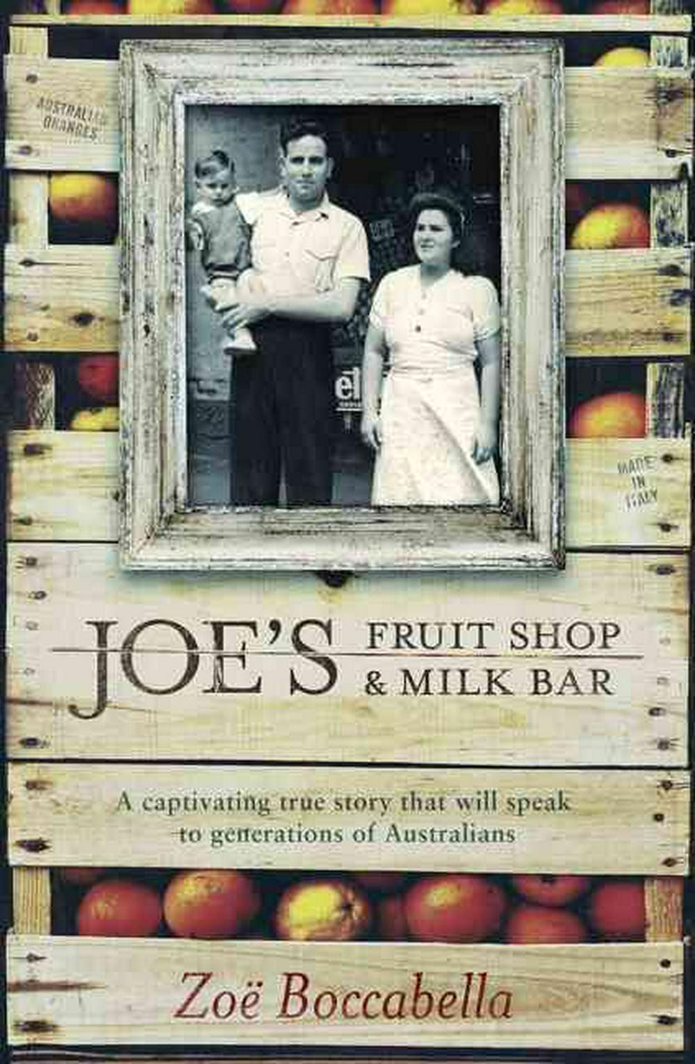 Cover Art for Joe's Fruit Shop and Milk Bar, ISBN: 9780733333828