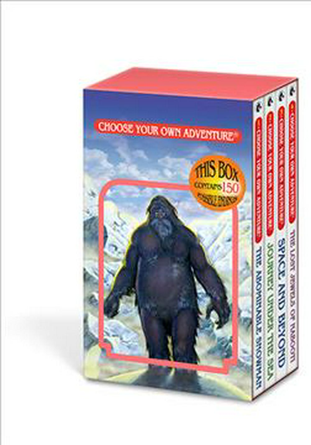 Choose Your Own Adventure 4-Book Set, Volume 1 by Chooseco, ISBN: 9781933390949