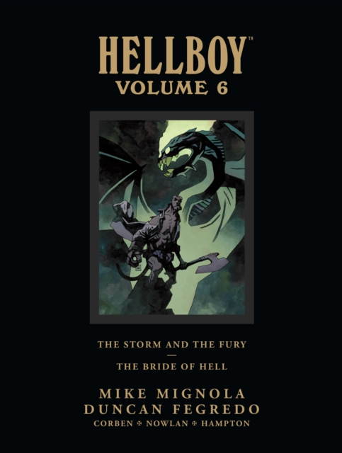 Cover Art for Hellboy: Volume 6, ISBN: 9781616551339