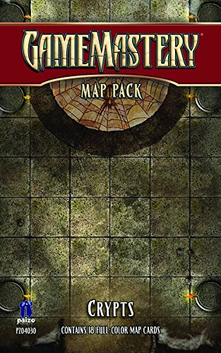 GameMastery Map Pack: Crypts