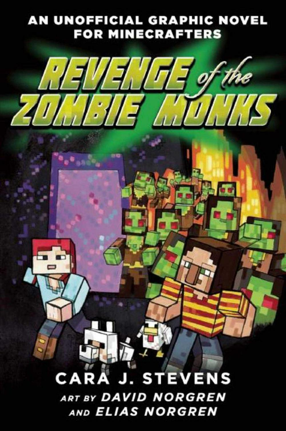 Revenge of the Zombie MonksAn Unofficial Graphic Novel for Minecrafters, #2