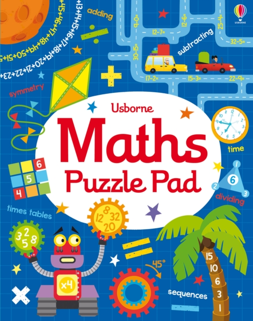 Maths Puzzles PadTear-off Pads