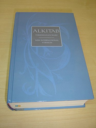 Indonesian TB - English NIV Bilingual Bible Blue Large 065 Size / ALKITAB Holy Bible Terjemahan Baru - New International Version / TB - NIV HC 065TI / INDONESIA - INGGRIS / Thumb Index by Bible Society, ISBN: 9789794639320