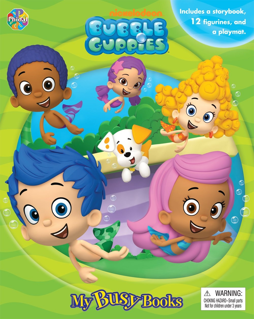 Bubble Guppies: My Busy Book by Phidal Publishing Inc., ISBN: 9782764322833