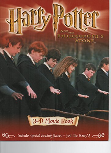 Harry Potter and the Philosopher's Stone: 3-D Movie Book