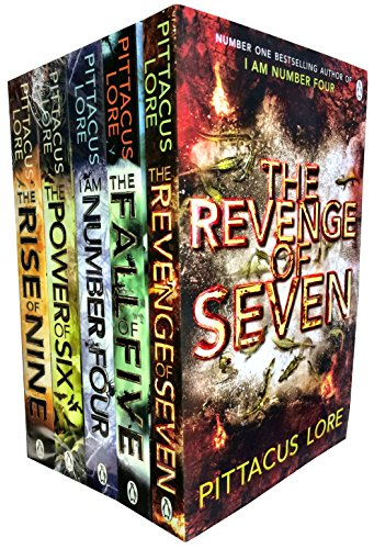 Lorien Legacies Series 5 Books Collection Set by Pittacus Lore-I Am Number Four, The Power of Six, The Rise of Nine, The Fall of Five, The Revenge of Seven