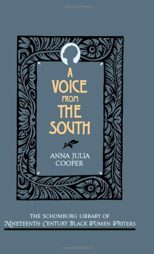 a voice from the south essay South and slave controversy from 1793 to 1860 essay controversy arouse in from the years 1793 to 1860 on a wide scale of topics regarding the slavery as well as north and south arguments lead to impact america throughout these years.