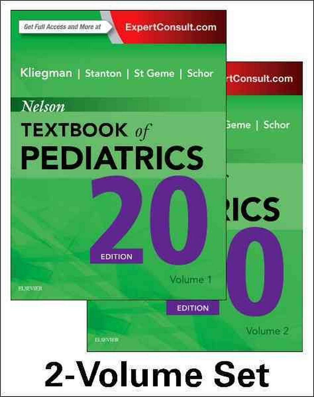 Nelson Textbook of Pediatrics, 20e