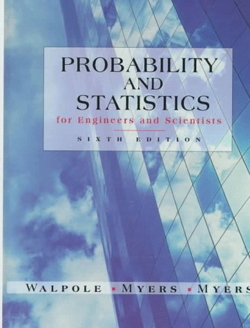 Probability & Statistics for Engineers & Scientists (8th Edition)