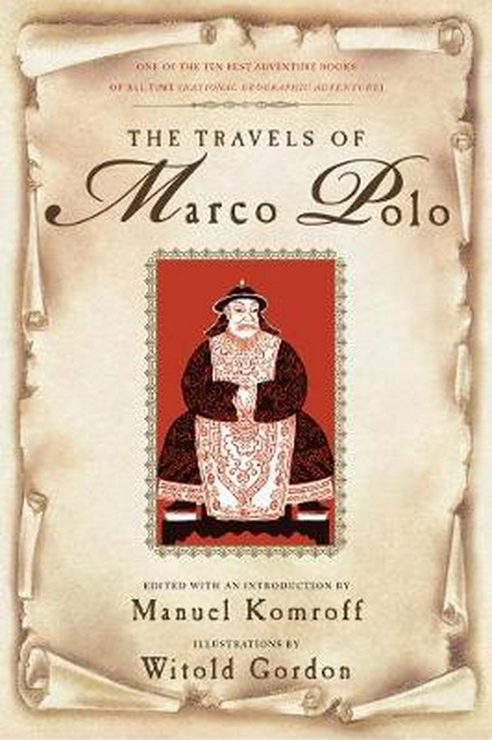 an introduction to the history of travels by marco polo Marco polo was not the first european to travel to china, but he was the first one who left behind a detailed narrative of his trip the travels of marco polo there is a lot about marco polo's.