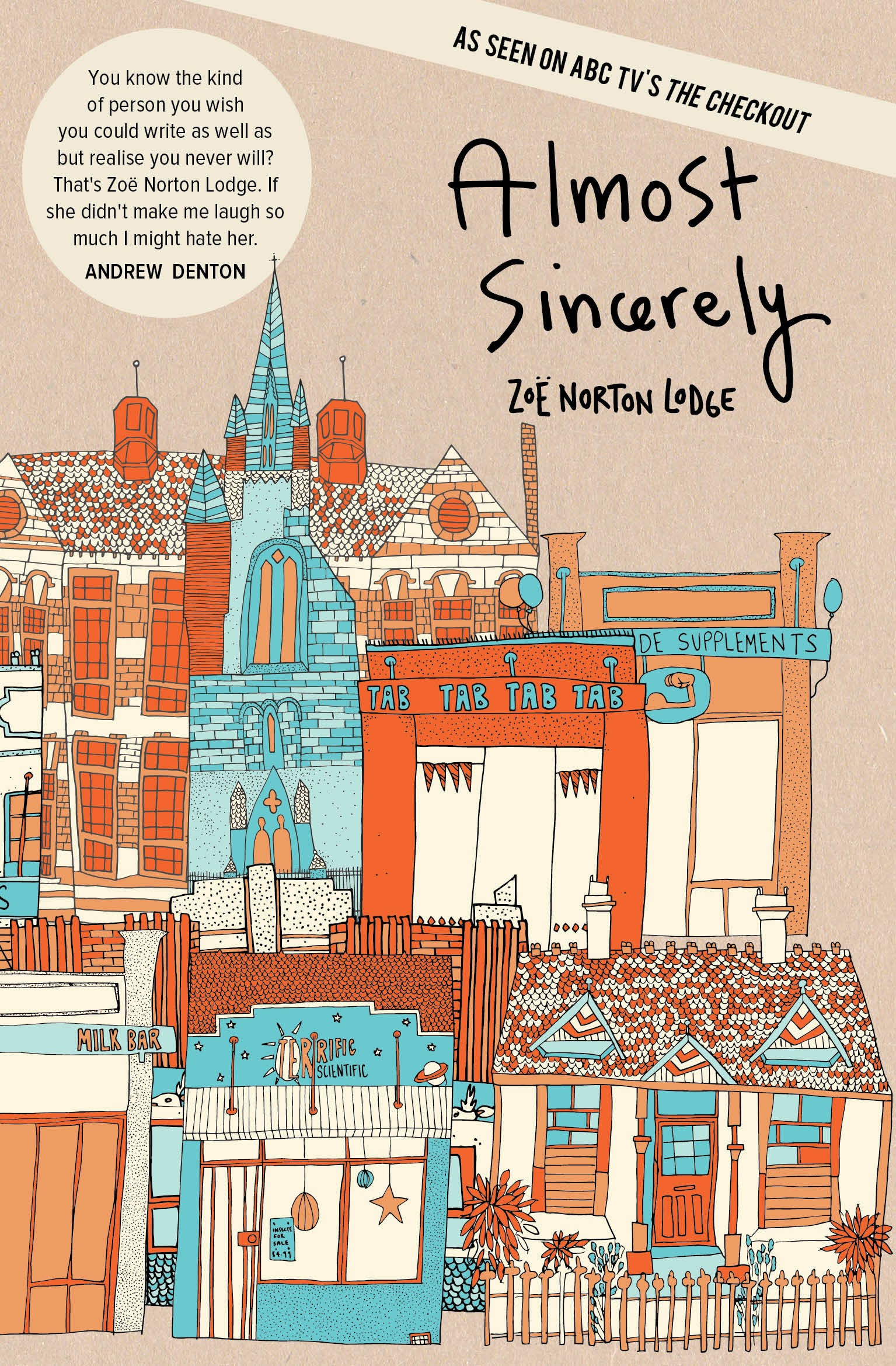 Cover Art for Almost Sincerely, ISBN: 9781922146854