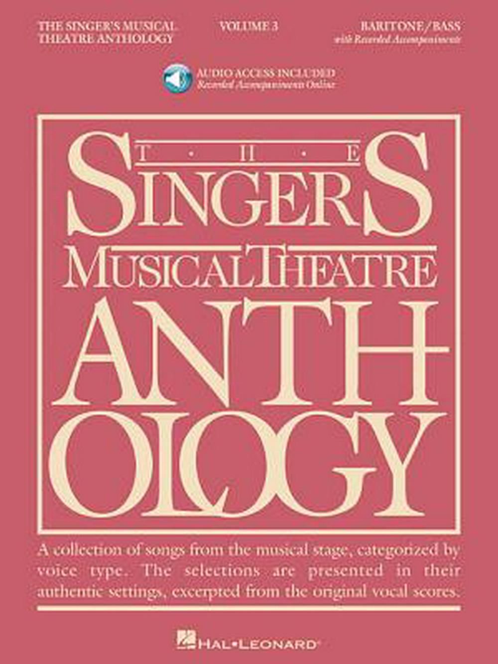 The Singer's Musical Theatre Anthology: Baritone/Bass, Volume 3 [With 2cd]