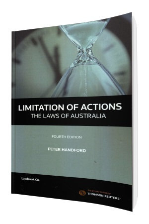 Limitation of Actions 4e - Laws of Australia book