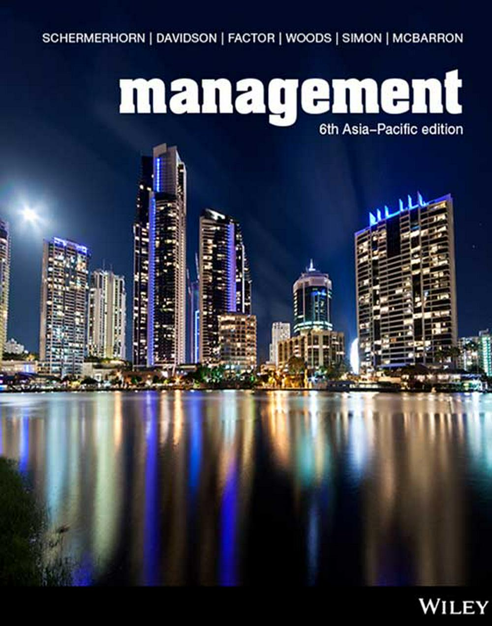 Management 6th Asia-Pacific Edition Print on Demand (Black & White)