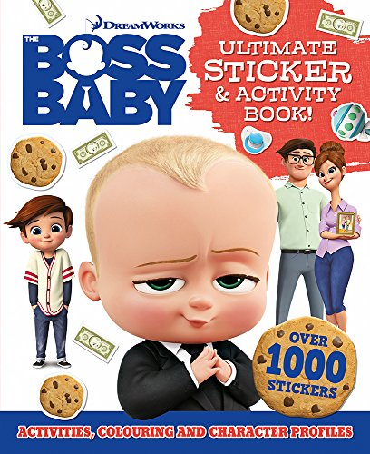 Boss Baby Giant Sticker Book (Giant S & A Boss Baby)