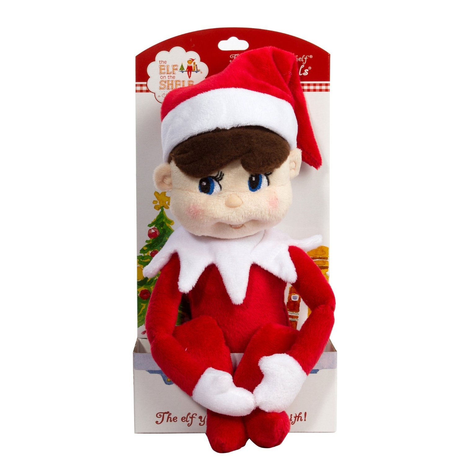 The Elf on the Shelf: A Christmas Tradition Elf on the Shelf Gift Set - Light Skinned Boy
