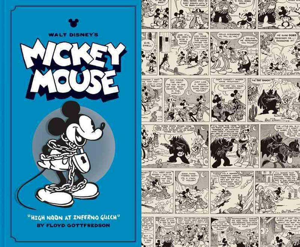 Walt Disney's Mickey Mouse: High Noon at Inferno Gulch Volume 3