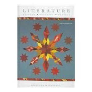 Literature by Laurie G. Kirszner, ISBN: 9780155036222