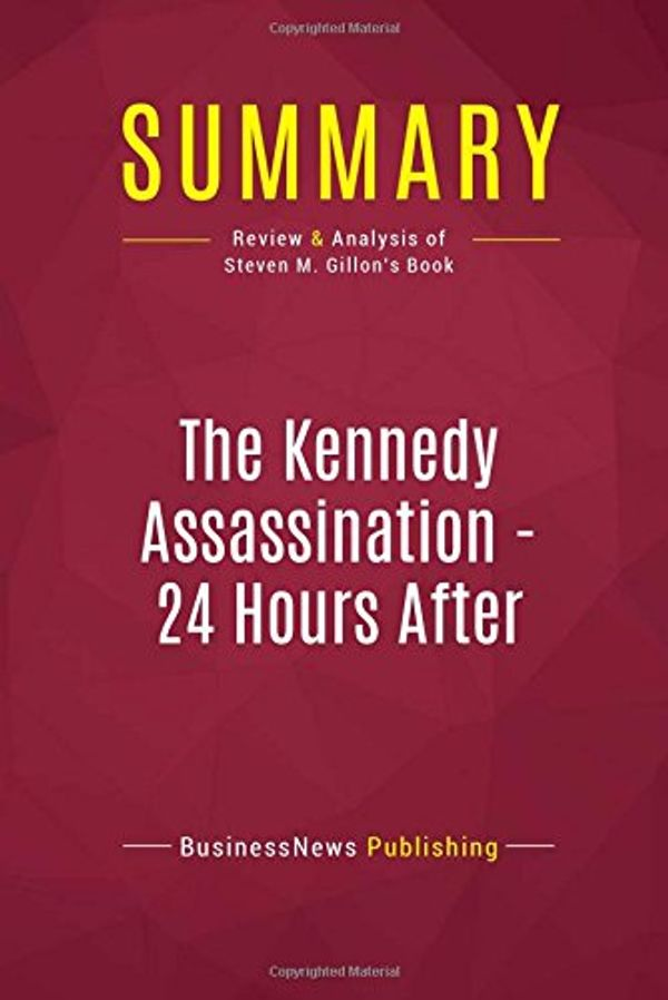 Booko: Comparing prices for Summary: The Kennedy