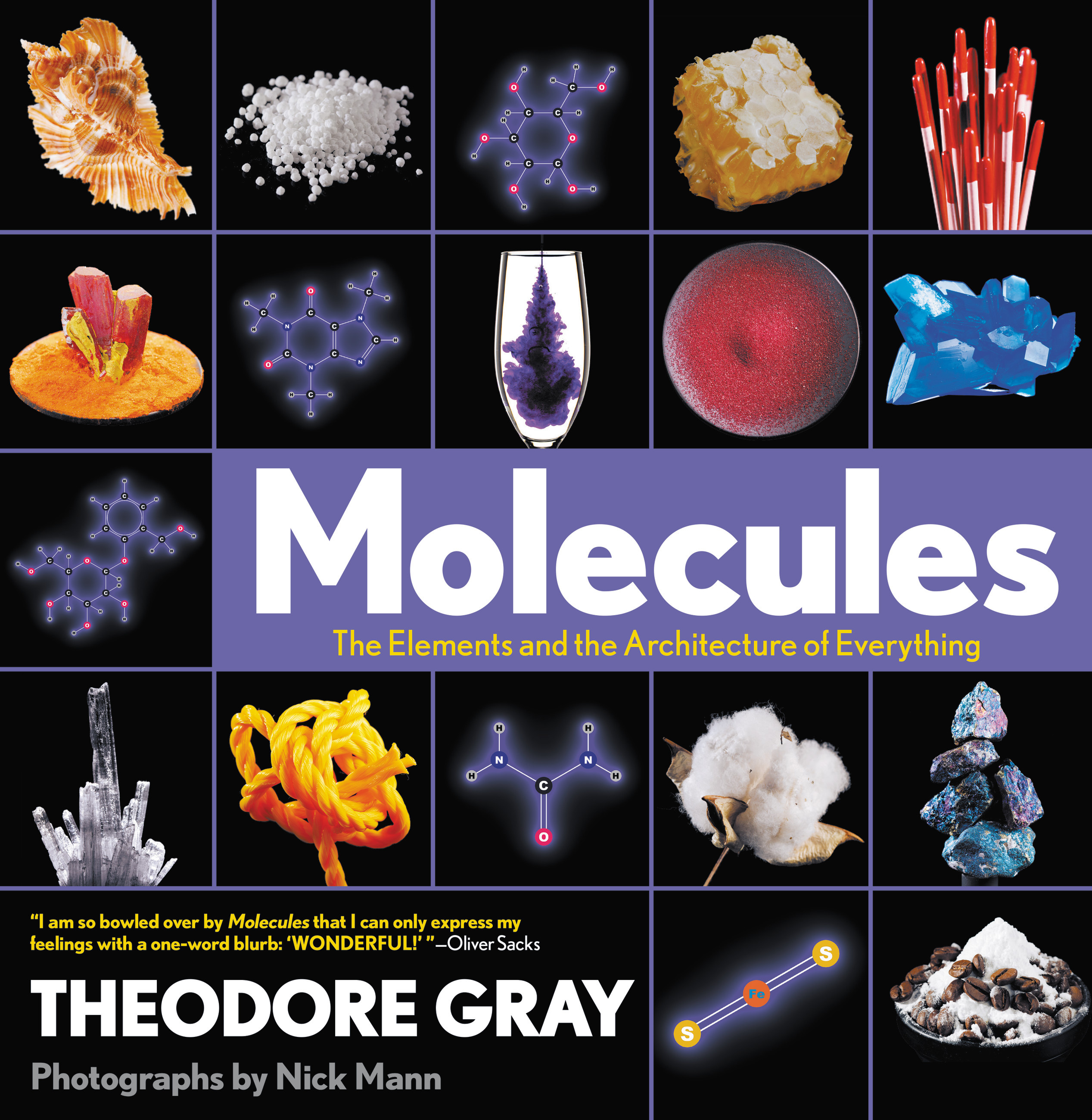 Molecules: The Elements and the Architecture of Everything by Theodore Gray, ISBN: 9780316480581