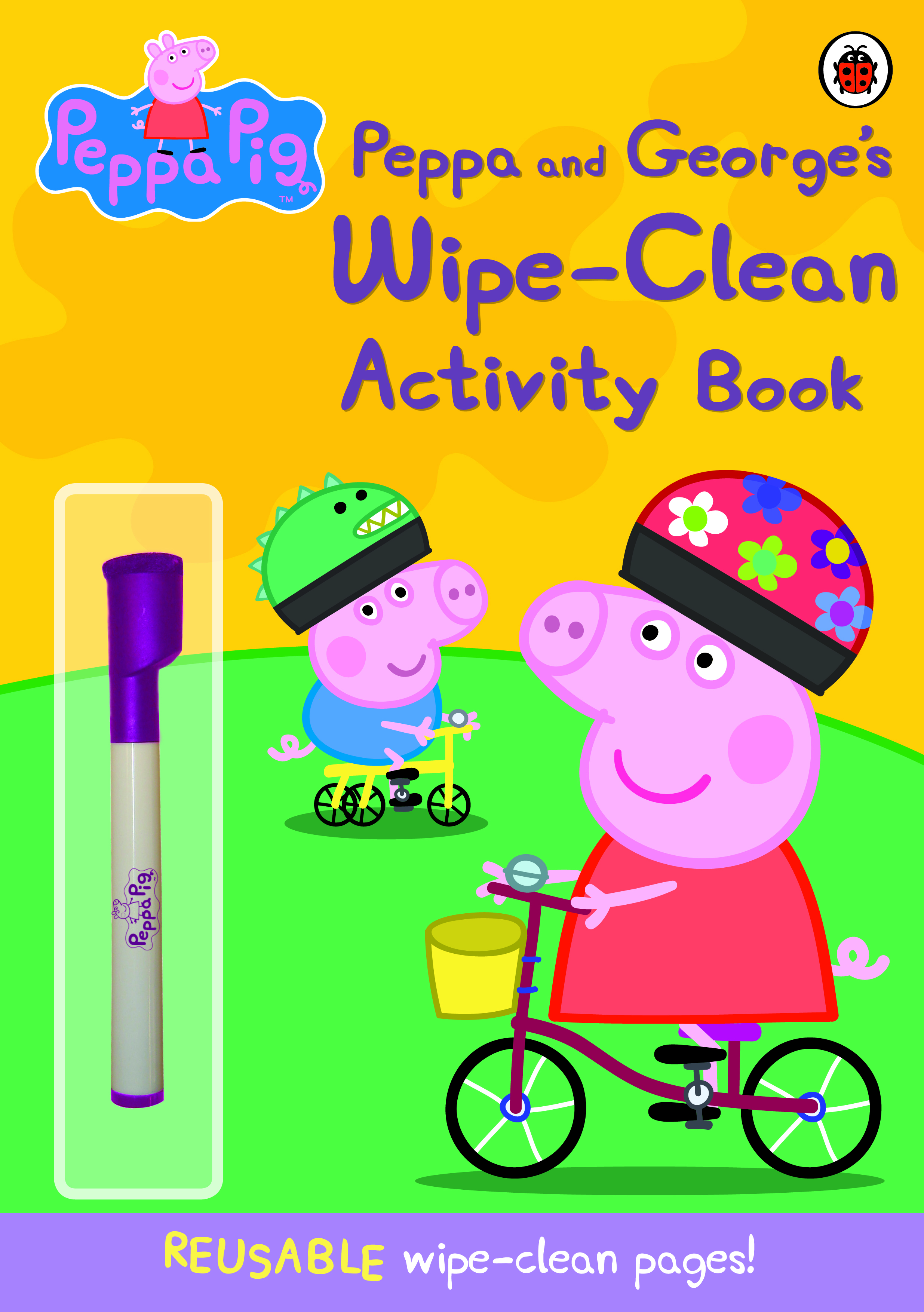 Peppa Pig~ Peppa And George's Wipe-Clean Activity Book