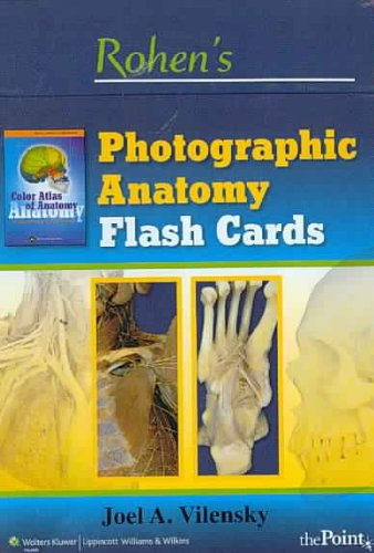 Booko: Comparing prices for Rohen\'s Photographic Anatomy Flash Cards