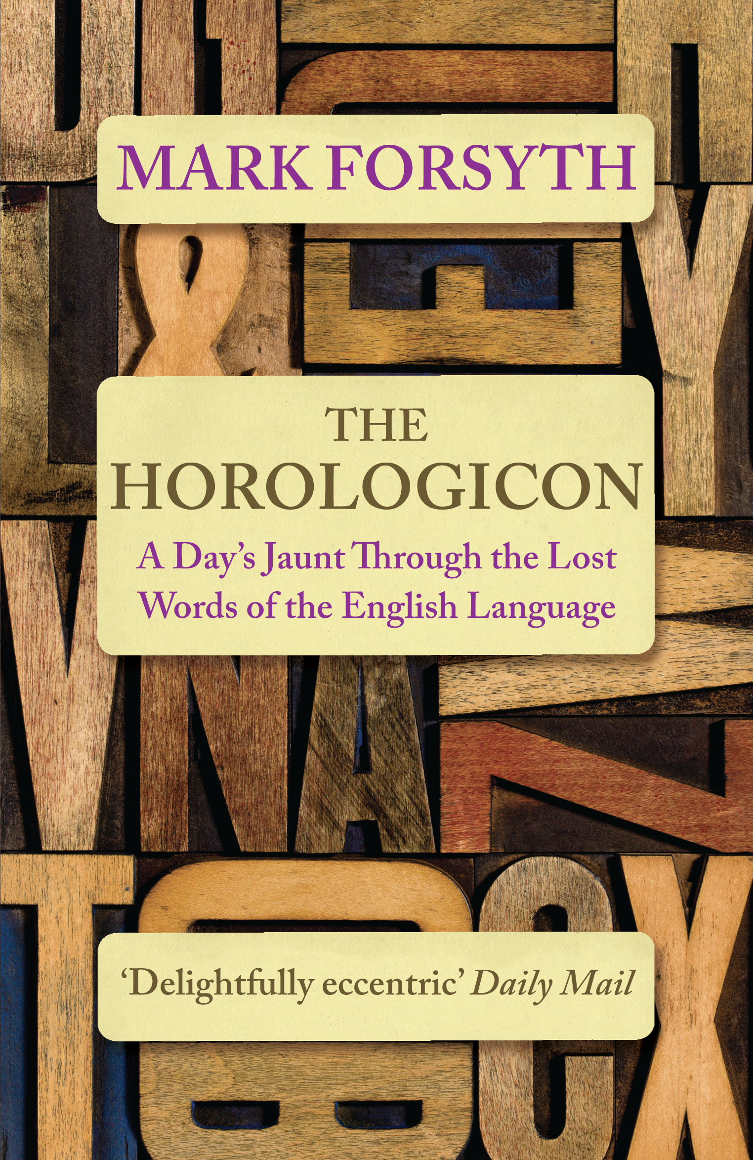 The Horologicon by Mark Forsyth, ISBN: 9781785781711