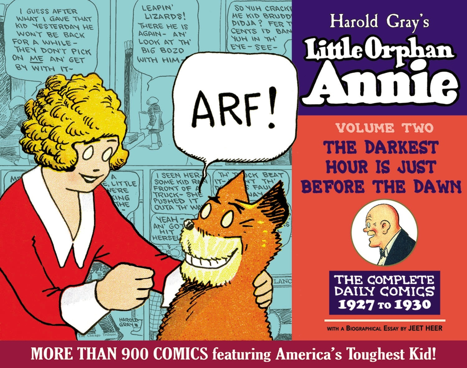 The Complete Little Orphan Annie, Volume 2: The Darkest Hour Is Just Before Dawn; Daily and Sunday Comics 1927-1929