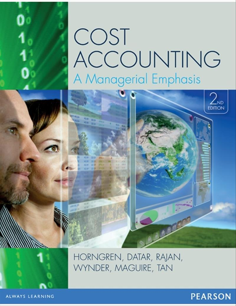 Value Pack Cost Accounting 2e + MyAccountingLab with eBook (2e)