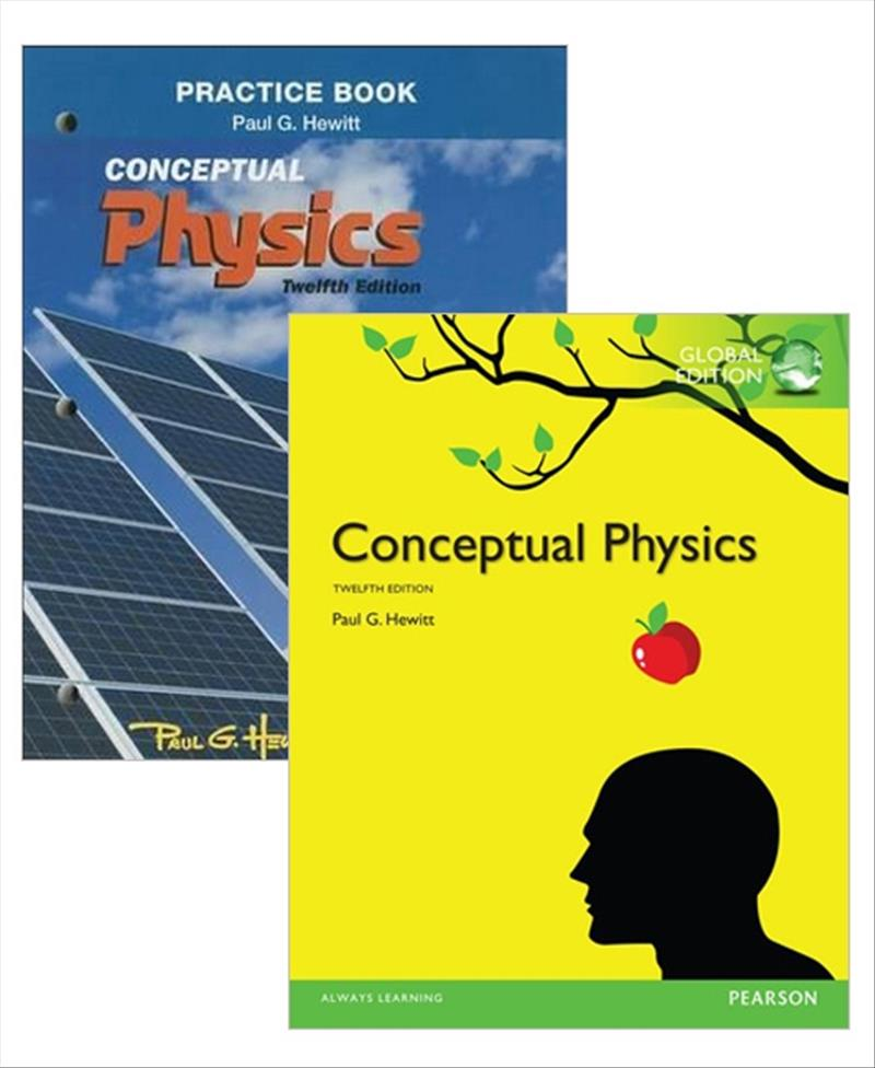 Value Pack Conceptual Physics Global Edition + Practice Book for Conceptual Physics