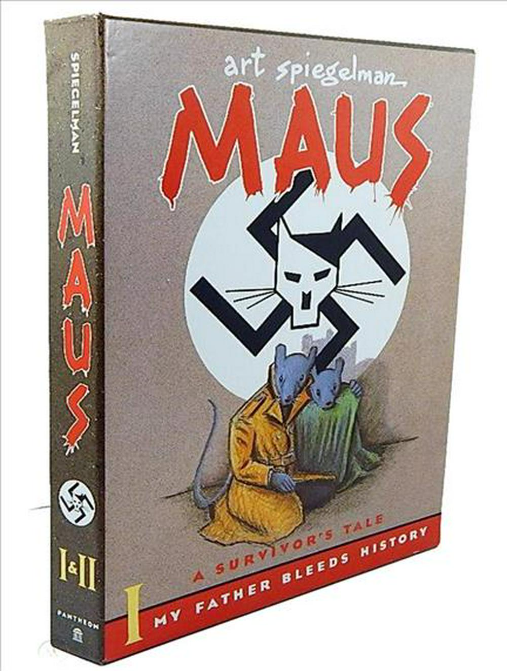 "Maus: ""My Father Bleeds History"", ""Here My Troubles Began"" v. 1 & 2"