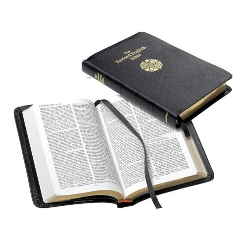 Revised English Bible Standard Text Edition REB143 Black French Morocco Leather
