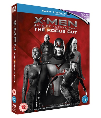 X-Men: Days of Future Past - Rogue Cut [Blu-ray] [2014] by Unknown, ISBN: 5039036073905