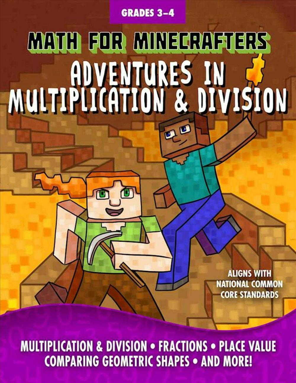Math for MinecraftersAdventures in Multiplication & Division