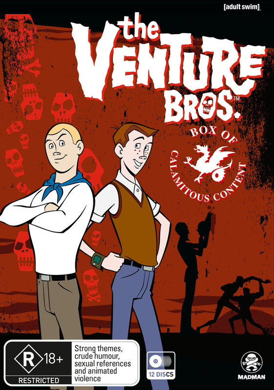 The Venture Bros Season 1-6 | Box of Calamitous | NON-UK Format | Region 4 Import - Australia