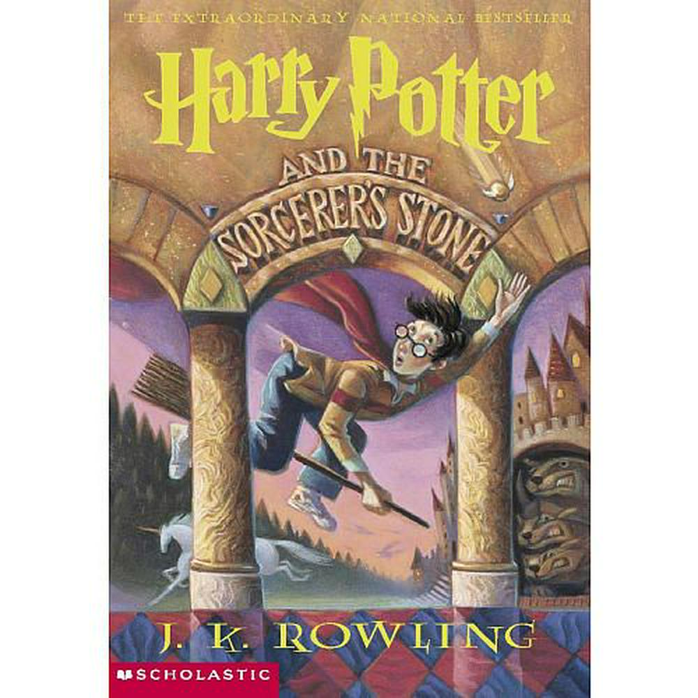 Cover Art for Harry Potter and the Sorcerer's Stone, ISBN: 9780590353427