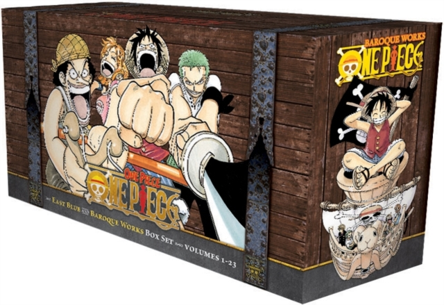 One Piece Box Set: 1-23