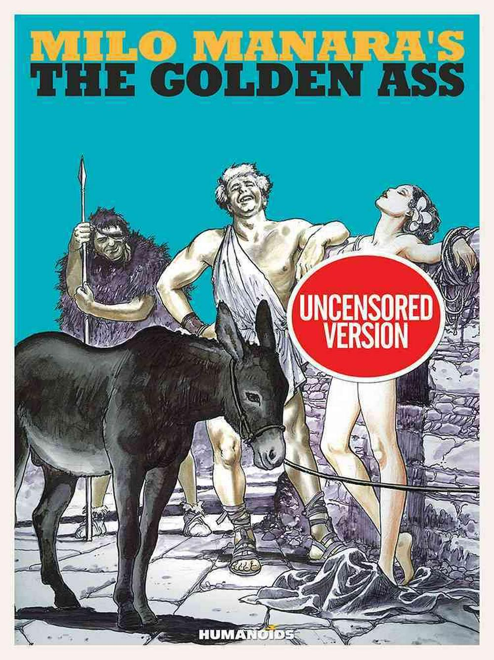 Milo Manara's the Golden Ass: Oversized Deluxe Edition