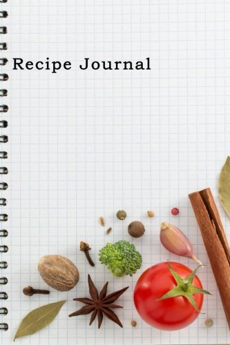 Recipe JournalSpiral-Look Notebook Cooking Journal, Lined and...