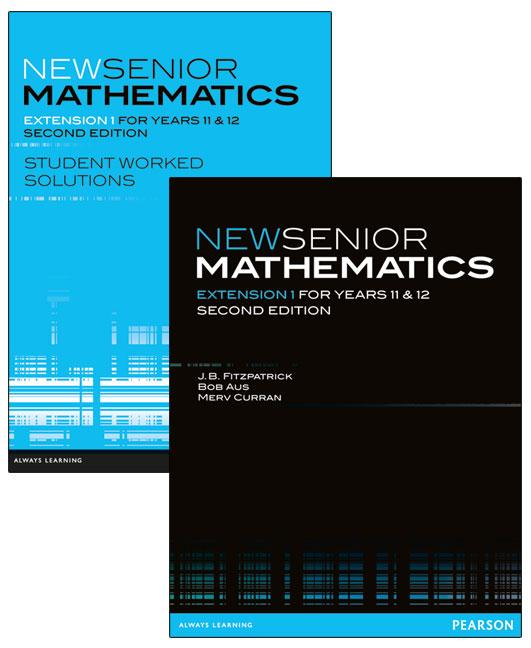 New Senior Mathematics Extension 1 Year 11 and 12 Value Pack