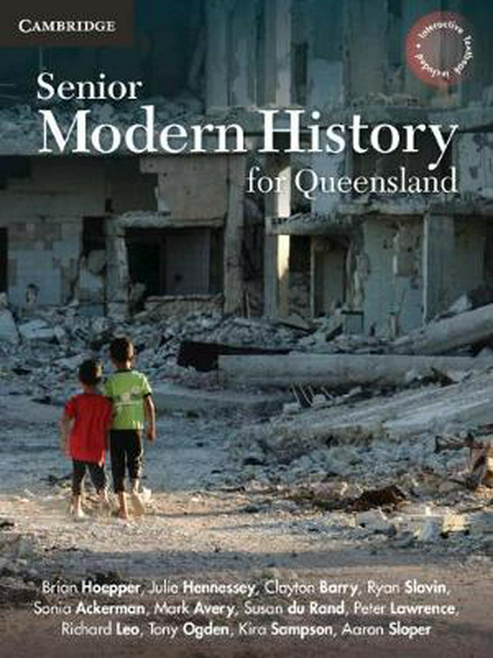 Senior Modern History for Queensland Units 1-4 by Brian Hoepper, ISBN: 9781108469418