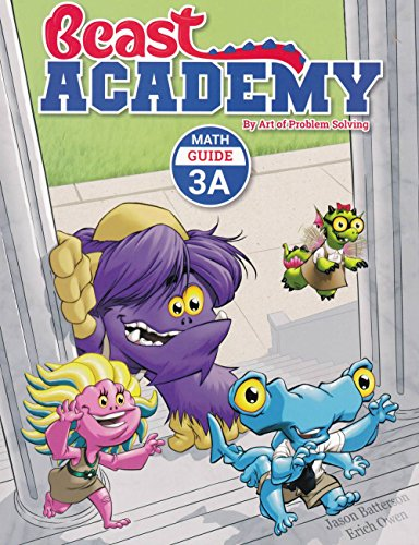 Beast Academy Math Guide 3A Art of Problem Solving (Art of Problem Beast Academy)